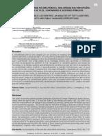 Artigo - Convergência Contábil na Área Pública Uma Análise das Percepções dos Auditores de TCES, Contadores e Gestores Públicos