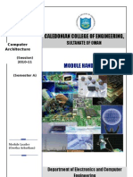 Computer Architecture Module Hand Book-Ca_ June 6th(Sent ToRam Sir on 6th)