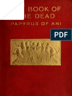 Budge E. a. Wallis - The Book of the Dead Papyrus of Ani Deel 1