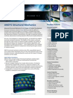 Ansys Structural Mechanics Solutions