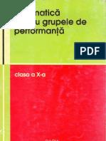 Informatica Pentru Grupele de Performanta clasa a X-a