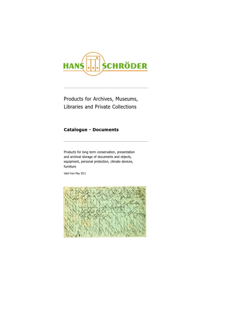 Hans Schroder Archival Products Catalogue May 2011 Paper 175cm Black Plastic Handle Pcb Circuit Board Cleaning Anti Static Conservation