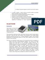 Solar Assignment