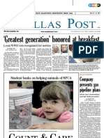 The Dallas Post 05-15-2011
