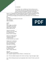 Festa Cinco Chagas - Oficio Divino