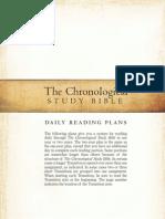 Chronological Reading Plan