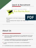 Head Hunting Ahead- Company Profile