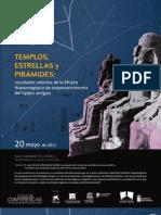Templos, estrellas y pirámides