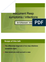 Rec Resp Infections in Children