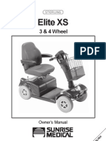 Elite Xs 4 Mobility Scooter