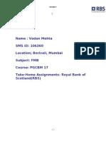 Case Study Royal Bank of Scotland (RBS)