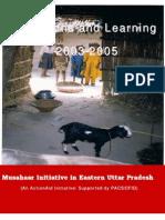 Musahar - Move Towards Mainstreaming