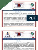 Info Curso Certif Insp API510 [Modo de ad
