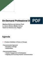 On-Demand Professional Development
