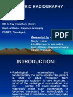Paediatric Radiography