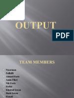 Imd103(Output Presentation)