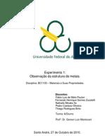 Relatório_Exp1_Observação da estrutura de metais_Materiais e suas propriedades_Trim2.3
