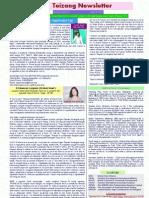 Teizang News letter May 15, 2011