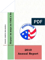 Peace Corps In Country Annual Report