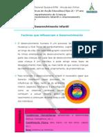 Ficha nº_Factores que influencam o Desenvolvimento Infantil