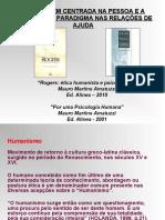 Humanismo e relação de ajuda na ACP