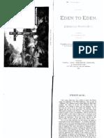 Eden to Eden - J.H. Waggoner (1893)