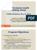 Performance Audit Adding Value