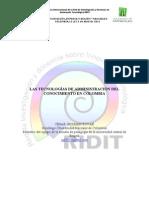 Las Tecnologías de la Administración del Conocimiento en Colombia