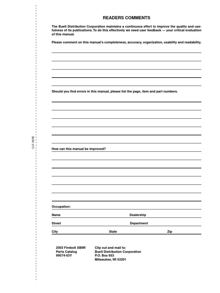 buell firebolt xb9r parts manual catalog download 2003 2004