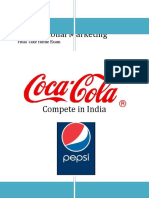 coke ans pepsi learn to compete in india swot analysis