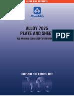 Alloy 7075 Tech Sheet