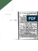 William Eland a Tutor to Astrology
