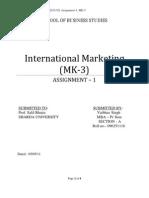 MK-3, Assignment - 1,