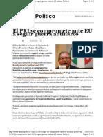 05-05-11 El PRI se compromete ante EU a seguir Guerra Antinarco