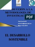 IV Desarrollo Sostenible