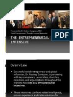 Entrepreneurial Intensive | Rodney Sampson