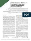 3D FEM of Welding Process Using Element Birth & Element Movement Techniques