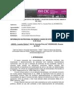 INFORMAÇÃO NUTRICIONAL DE BEBIDA À BASE DE EXTRATOS DE ARROZ E soja