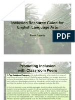 Inclusion Resource Guide for ELA