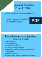 Diesel vs Electric