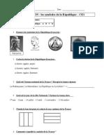 Evaluation Symboles Republique