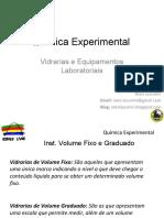 _Química Laboratorial - Vidrarias e Equipamentos Laboratoriais 01