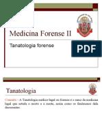 Tanatologia - USP