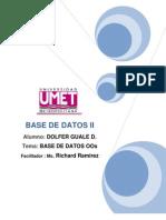 Ensayo Base de Datos OOs V03 - Dguale