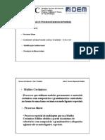 Aula 13 - Processos Especiais de Fundição