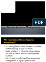 An Introduction to International Human Resource Management