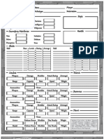 HEX Character Sheet