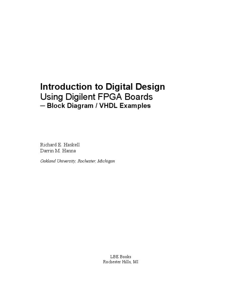Intro Digital Design Digilent Vhdl Online Field Logic Family Integrated Circuit Gates Below Label The Maxterm Diagram Programmable Gate Array