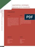 Estructuras organizativas, estrategias y personas impulsoras de la innovación