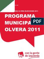 Programa Olvera 2011